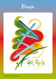 Heart Healing Symbol Card - Brain